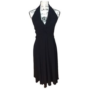 Jones New York Black Halter Top Dress - size 6